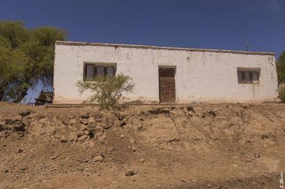 Typisches Adobe-Haus in Alto Jagüé