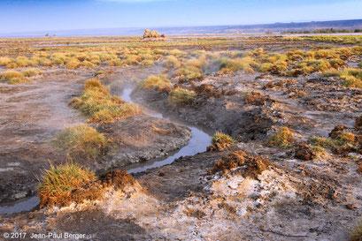Source chaude au Lac Abhé