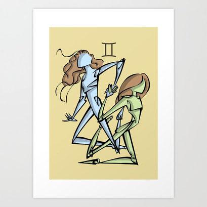 Signe du Zodiaque: GEMEAUX