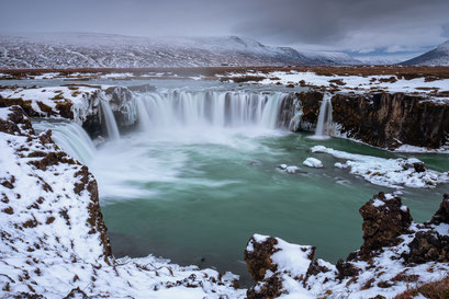 Waterval Godafoss - Iceland © Jurjen Veerman