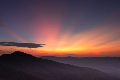 Sunset Phu Chi Fa © Jurjen Veerman