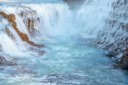 Gullfoss waterfall - Iceland © Jurjen Veerman