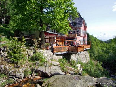 Wander- und Ausflugsziel das Gasthaus Steinerne Renne