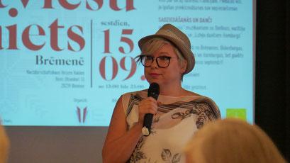 Dina Eglīte, Latviešu centrs Minsterē