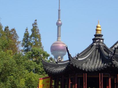 Shanghai YuYuan Garten / Pearl Tower