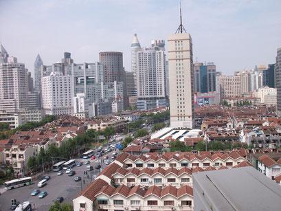 Shanghai - Blick aus meinem Fenster