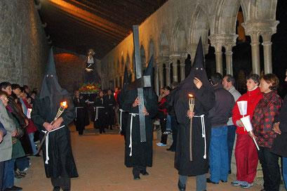 Procession de Pâques - Arles sur Tech (PO 66)