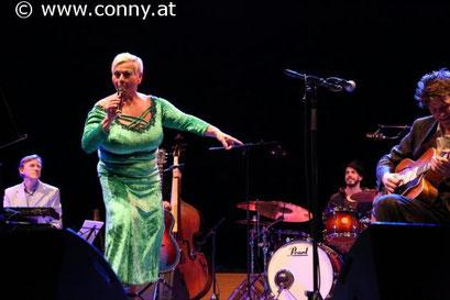 Mit Jazz Gitti im Wiener Konzerthaus