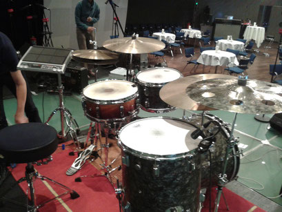 Mein 1960s Rogers Holiday Drumset