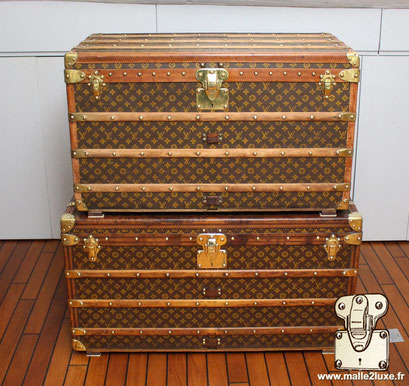 sell mail trunk quickly old Louis Vuitton