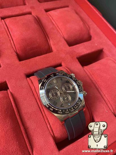 custom watch box for watch suitcase Louis Vuitton crazy rolex rare