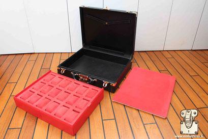 custom watch box for watch suitcase Louis Vuitton crazy