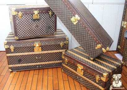 Vendre Malle Louis Vuitton damier prix €