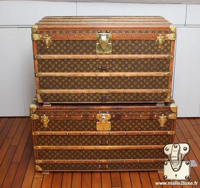 vendre malle courrier rapidement Louis Vuitton ancienne