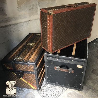 Sell old Louis Vuitton trunks to an expert