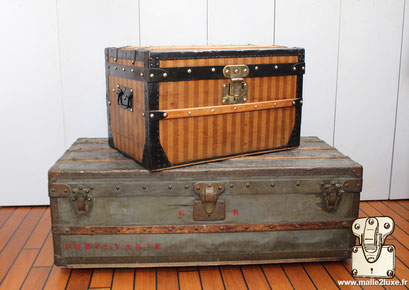 Argus of Louis Vuitton zinc trunks sell quickly