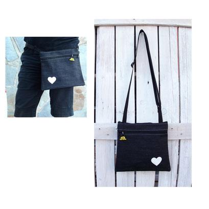 Bolso Ariadna Jeans Love