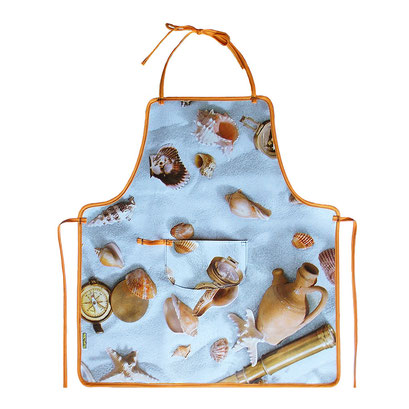 delantal impermeable Coquilles