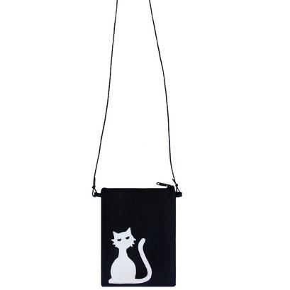 Bolso / bossa Mini Cat White