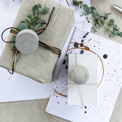 Concrete Pendant Gift Wrap by PASiNGA