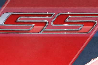 The SS emblem and Camaro lettering is available on the personalized edition only