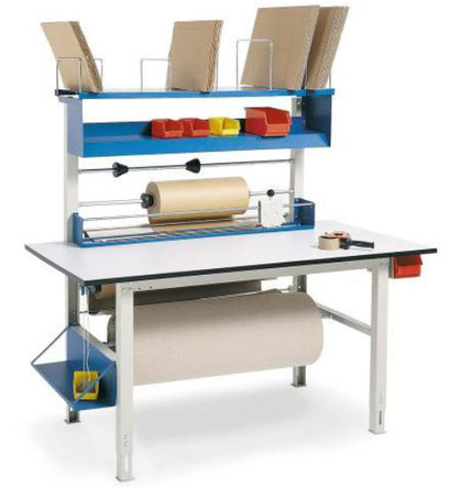 Packtisch, Arbeitstisch, Werkbank - Lagerconsulting/Hauptkatalog