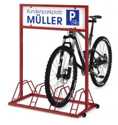 Fahrradständer - zu finden im Katalog S. 296 lagerconsulting.at