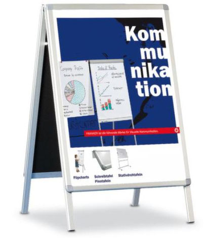 Plakatständer Kundenstopper A1 - Lagerconsulting/Hauptkatalog