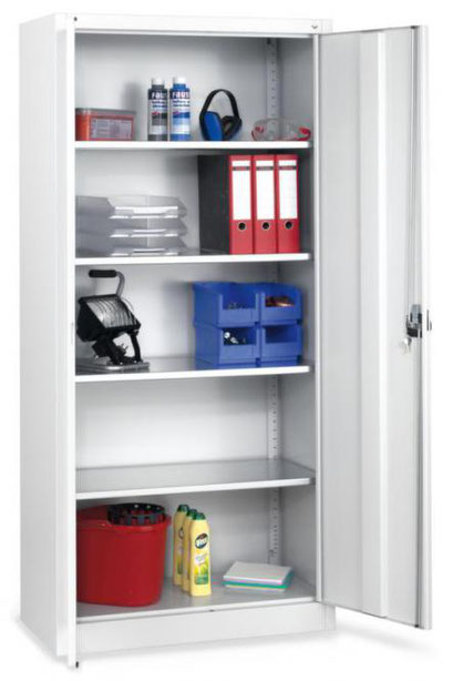 Werkzeugschrank - Universalschrank, Regalschränke -zu finden im Katalog S. 5 lagerconsulting.at