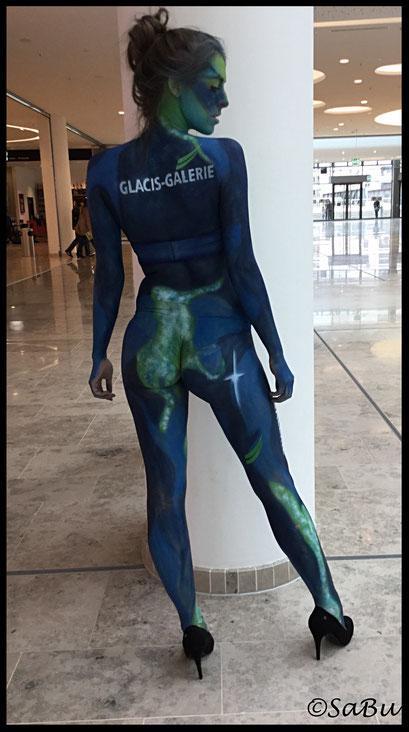 Für Modenschau-Flashmop in Glacie Galerie, Fisher´s House  Modelagentur Nürnberg