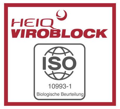 """Zertifikate & Prüfberichte zur """"Grimaske mit HeiQ Viroblock®"""" gibt es hier. Grimaske aus NRW - das Original von www.feld.de - HeiQ Viroblock getestet"""