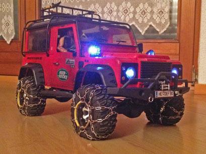 Aufgerüstet  |  Bernds Land Rover Defender