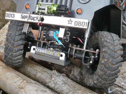 GEHEIMWAFFE  |  crawlster®4S in Stefans SAWBACK