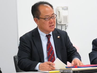 中谷俊一総務リーダー(S56卒)
