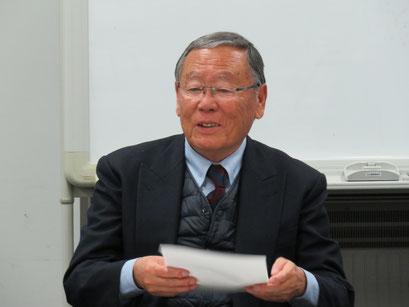 九州支部末次義久副会長(S38卒)