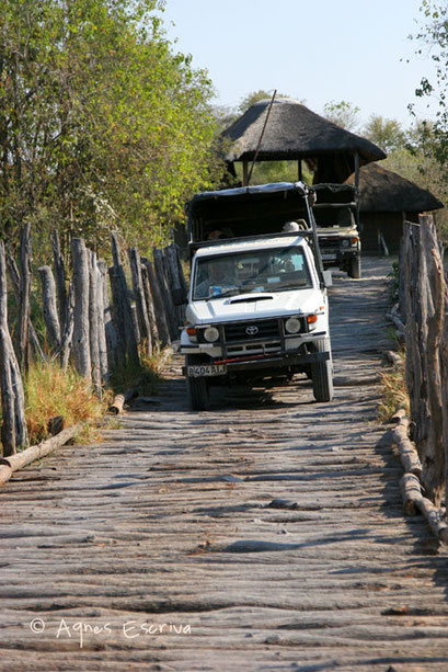 Passage de pont - Botswana août 2007