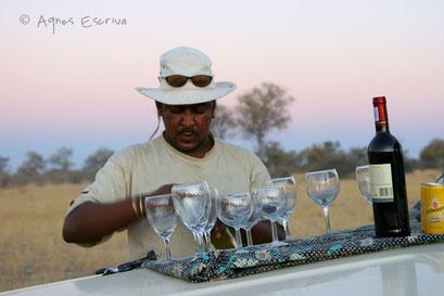 Apéritif - Botswana août 2007