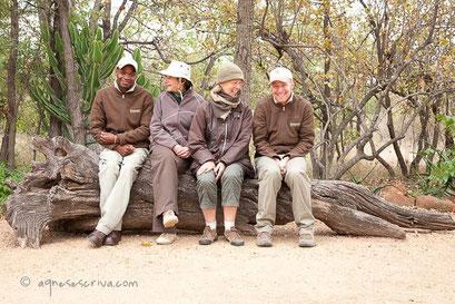 La fine équipe - Timbavati  - Afrique du Sud, juin 2011