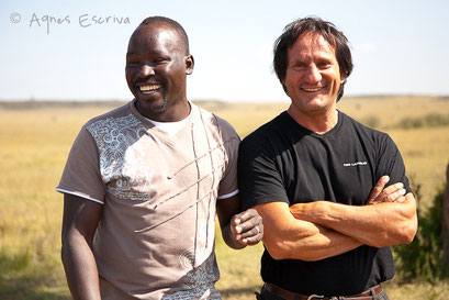 Cul et chemise... - Masaï Mara, Kenya - février 2011