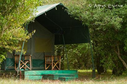 Camp de Melting pot safaris - Masaï Mara, Kenya - février 2011
