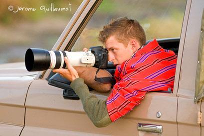 Un jeune talent ! Masaï Mara, septembre 2010