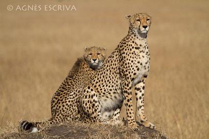 Mère et fille - Kenya août 2010