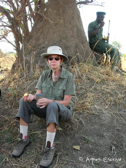 Petite pause...Safari à pied - South Luangwa - Zambie nov 2005