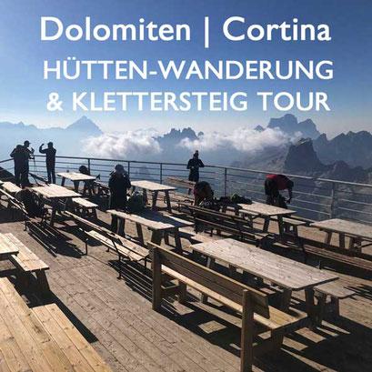 Hüttenwanderung Dolomiten Cortina Reiseblog Edeltrips