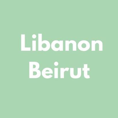 LIBANON BEIRUT Reiseliteratur