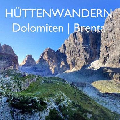 Hüttenwandern in der Brenta Dolomiten Südtirol Reiseblog Edeltrips