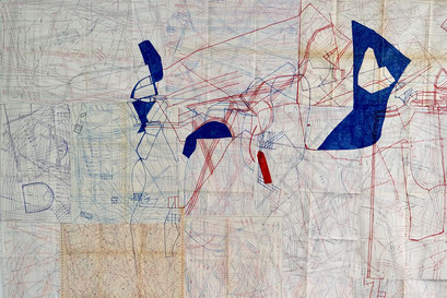 A Walk Of Drawing On The Map