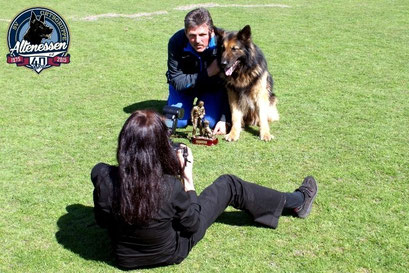Bruno von der Seilschaft beim Pressefoto