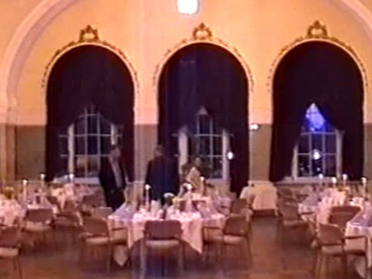 Impression Galadinner im Kurhaus Bad Nauheim - Screenshot Elvis-Festival 2000, Elvis-Archiv Bad Nauheim