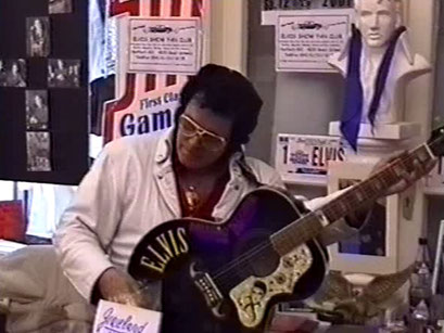 Jonny Winters - Screenshot Elvis-Festival 2000, Elvis-Archiv Bad Nauheim